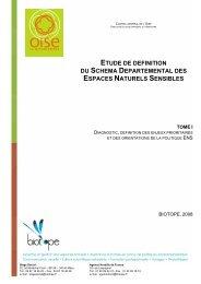 espace naturel sensible - Conseil général de l'Oise