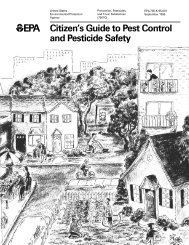 Citizen's Guide to Pest Control and Pesticide Safety - Public Health ...