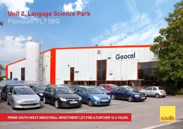 Unit 2, Langage Science Park Plymouth PL7 5BQ - Propex