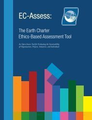 EC Assess Tool - Earth Charter Initiative