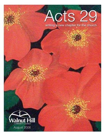 Untitled - Parent Directory - Walnut Hill Community Church