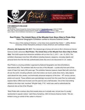 Real Pirates - Arizona Science Center