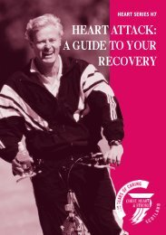 Heart attack: a guide to your recovery - Chest Heart & Stroke Scotland