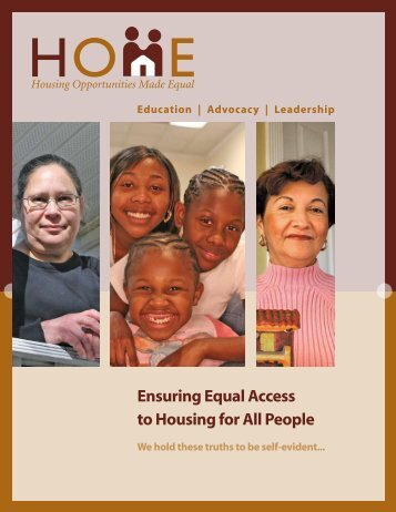 Ensuring Equal Access to Housing for All People