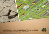 Australia's Road Infrastructure is in Crisis - Infrastructure Australia