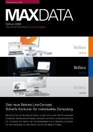 Das neue Belinea Line-Concept Scharfe Konturen für ... - MaxData