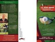 october 15, 2013 gleannloch pines golf club - Klein Independent ...