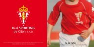 De 4 a 9 años - Sporting de Gijón