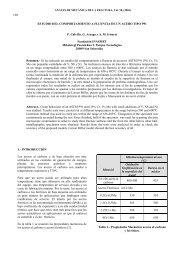 estudio del comportamiento a fluencia de un acero tipo p91