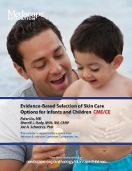 Evidence-Based Selection of Skin Care Options for - Medscape