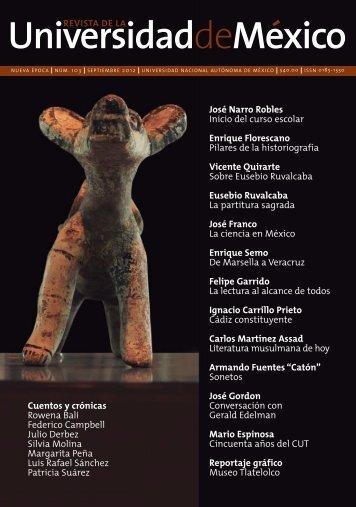 Eusebio Ruvalcaba - Revista de la Universidad de México ...