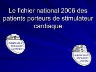Statistiques du fichier Français - Collège Français de Stimulation ...