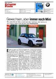 Gewachsen, aber immer noch Mini - Mini.ch