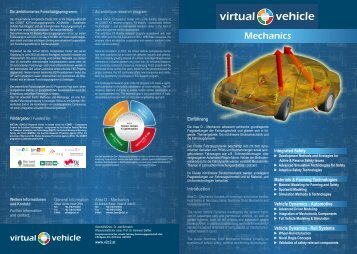 Mechanics - Virtual Vehicle