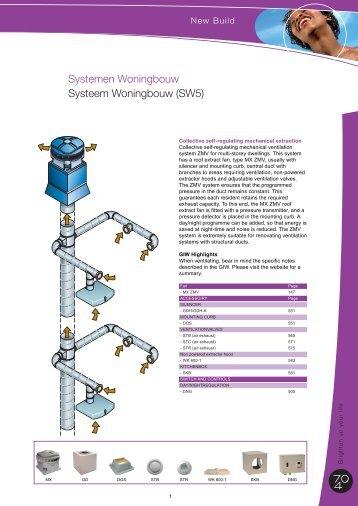 Systemen Woningbouw Systeem Woningbouw (SW5) - J.E. StorkAir