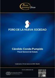 Cándido Conde-Pumpido Fiscal General del Estado - Nueva Economía Fórum