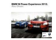 BMW M Power Experience 2012. Abu Dhabi – Circuito Yas Marina.