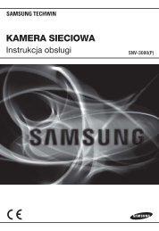 User Manual-SNV-3080-POLISH_Web.indb - Samsung CCTV
