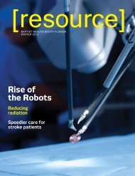 Rise of the Robots - Baptist Health South Florida