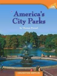 Lesson 8:America's City Parks