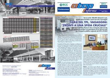 Atap Informa n. 1 Aprile 2012
