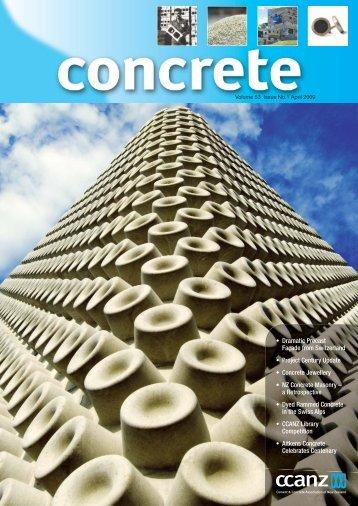 CCANZ News Mar 09.indd - Supacrete Concrete
