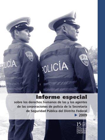 Informe especial - Comisión de Derechos Humanos del Distrito ...