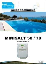 MINISALT 50 / 70 - Pool Technologie
