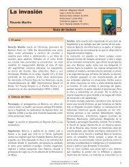 Guía La invasión - Alfaguara Infantil