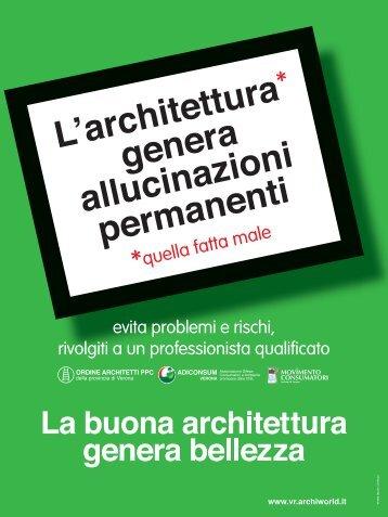 La buona architettura - Ordine degli Architetti della Provincia di Verona