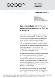 Geiger feiert Spatenstich für neues Nahversorgungszentrum in Weil ...