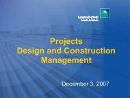 Design Basis Scoping Paper