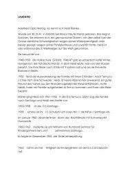 Curriculum Vitae - Deutsche Schule Valparaíso