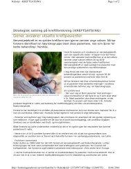 Gener avslører utsatte kreftpasienter - Ous-research.no