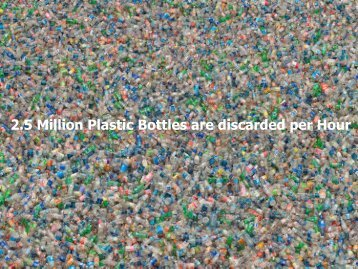 2.5 Million Plastic Bottles are discarded per Hour - Packaging 2.0