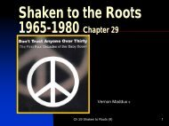 Shaken to the Roots 1965-1980 Chapter 29 - Rose State College