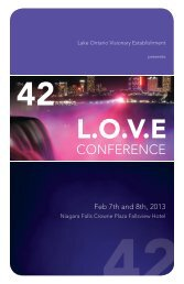 LOVE 2013 Programme with Abstracts (PDF) - Judith M Shedden ...