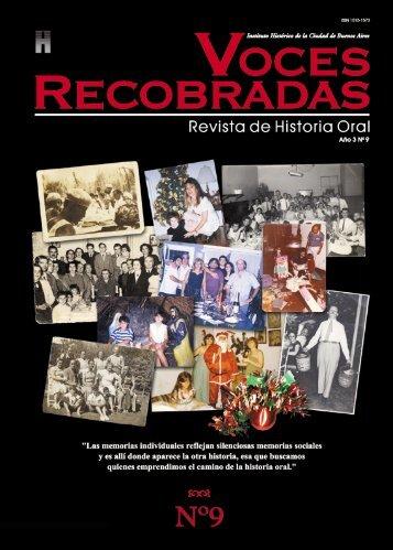 Publicaciones - Asociación de Historia Oral de la República Argentina