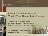 Bulk or On-Site Generation: What's Your ... - Ohiowater.org
