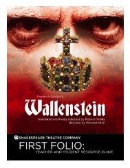 Folio Wallenstein.pub - The Shakespeare Theatre Company