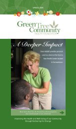 A Deeper Impact - Green Tree Community Health Foundation
