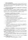 Detalii suplimentare privind condițiile de înscriere la concurs și ... - Page 2