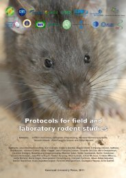 Protocols for field and laboratory rodent studies - HAL