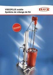 VISCOFLUX mobile Système de vidange de fût