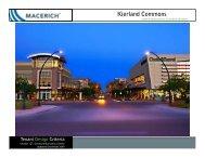 Kierland Commons General Information Criteria - Macerich