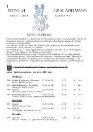 1 Weingut Graf Adelmann