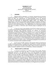 INFORME Nº 21/07 PETICIÓN 161-02 SOLUCIÓN AMISTOSA ...