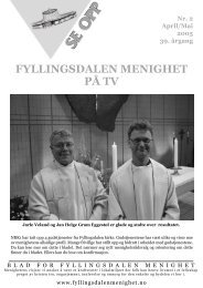 FYLLINGSDALEN MENIGHET PÅ TV - Mediamannen