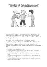 Streiten ist (k)ein Kinderspiel - Elternrat.de