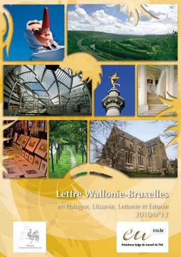 Lettre Wallonie-Bruxelles - WBI